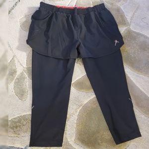 Running room 2-in-1 extreme run shorts & leggings